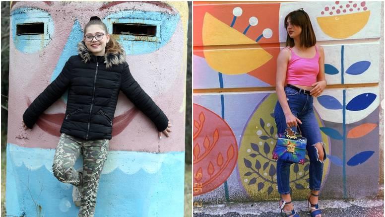 Mia Negovetić promijenila je imidž: Od curice s naočalama do prekrasne djevojke sa stilom