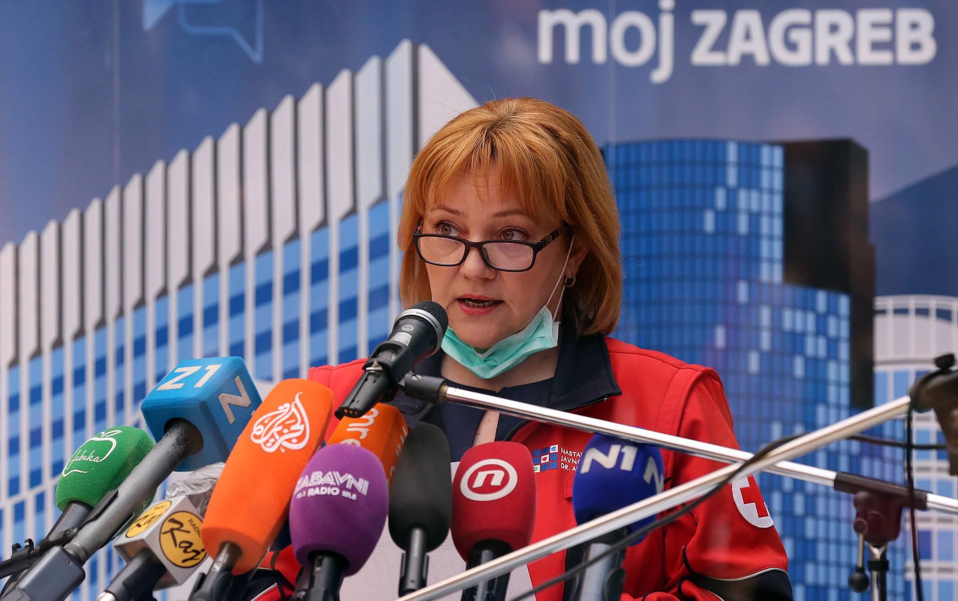 Zagreb, 10.04.2020 - Konferencija za medije Stozera civilne zastite grada Zagreba i gradonacelnika Milana Bandica