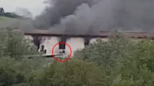 Migranti iskakali kroz prozore: 30 ozlijeđenih u  Velikoj Kladuši
