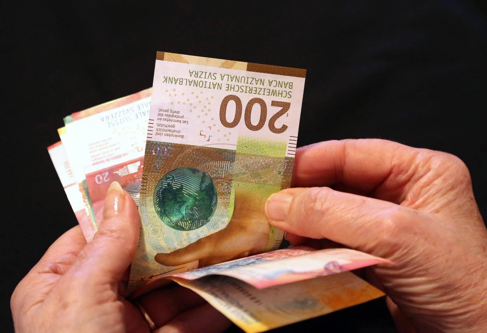 Tijekom 2018. godine Švicarska je pustila u opticaj nove papirnate novčanice švicarskog franka