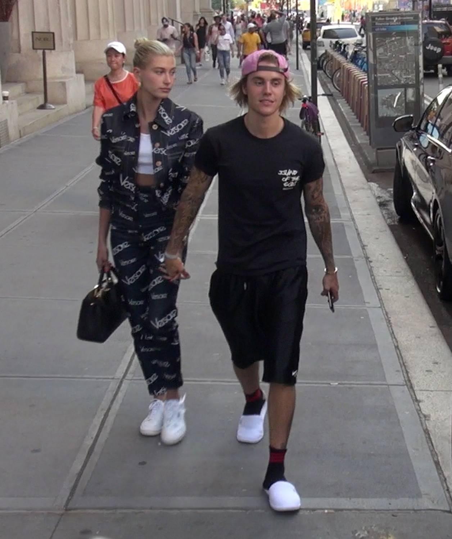 Hailey Baldwin and Justin Bieber sighting - New York
