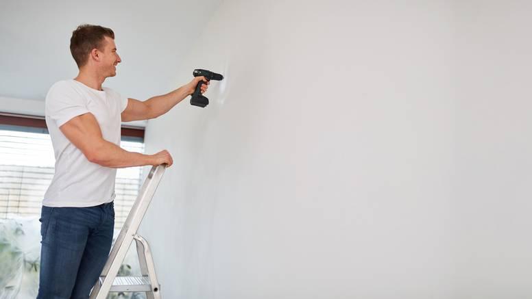 Trik za bušenje gipsanih zidova