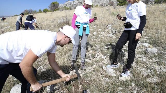 Nastavljena volonterska akcija 'Budi moja voda' kod Splita