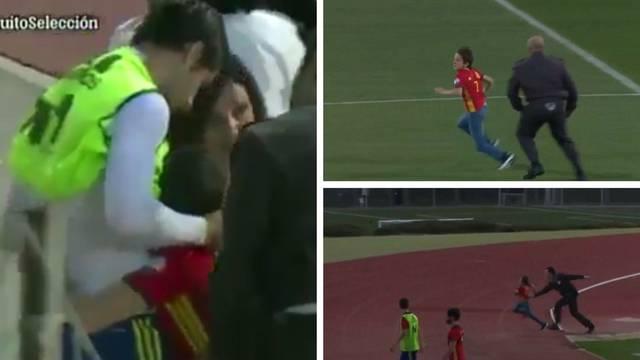 Zaštitare prolazio kao Messi pa je zagrlio idola Alvara Moratu