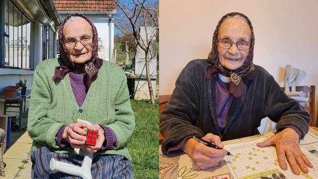 Baka Ana (99): Rubikovu kocku složim za samo nekoliko minuta