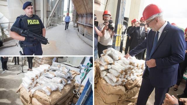 Ulov s balkanske rute: Spalili 4 tone droge vrijedne 300 mil. kn