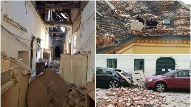 Krš i lom: Veliki potres nanio je štetu i zagrebačkim muzejima