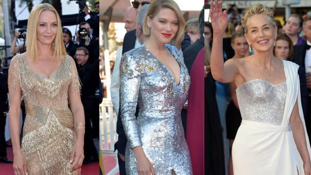 Zatvaranje Cannesa: Glumice su očarale glamuroznim haljinama