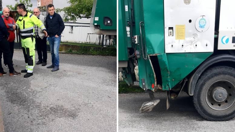 Djelatnika Čistoće je prignječio kamion za odvoz, susjedi ga spasili: 'Vikao je da će umrijeti'