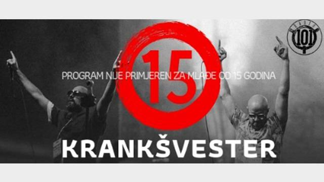 Prvi radijski koncert Krankšvestera na Radiju 101