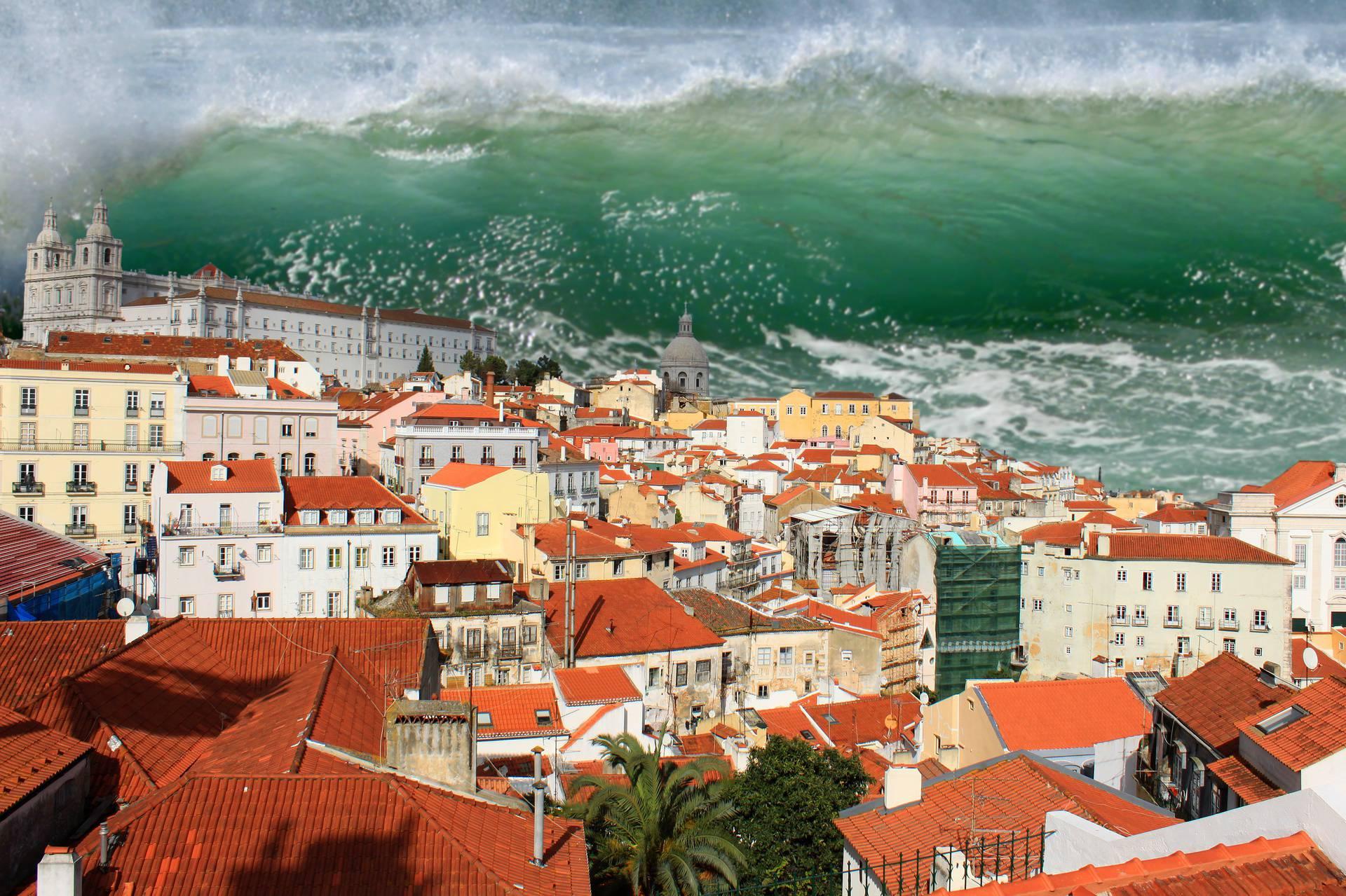 Tsunami in Lisbon