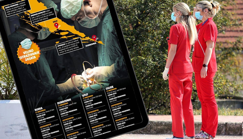 Detaljan popis: Liste čekanja u sedam velikih hrvatskih bolnica