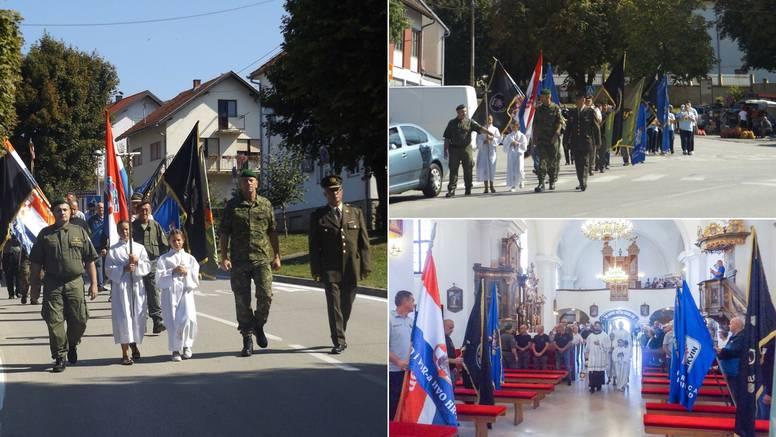 Hrvatski branitelji hodočastili Majci Milosrđa u Kloštar Ivaniću
