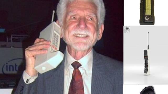 Razvoj mobitela: Od 'cigle' na uhu do mini računala s fotićem