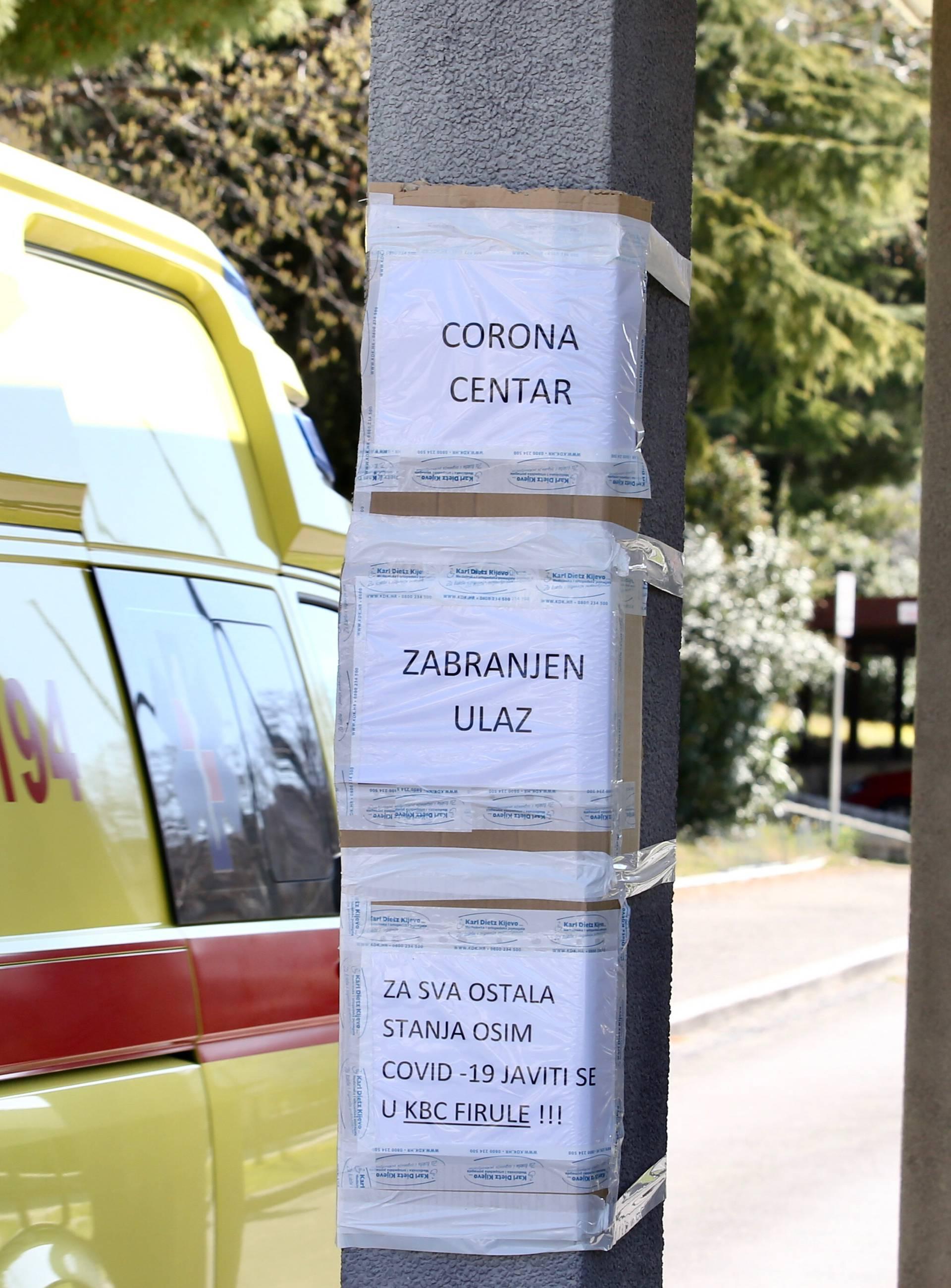 Split ima 14 novooboljelih, a među njima je i liječnik KBC-a