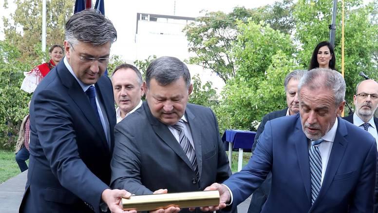 Spomenik domovini: Bandić je otvorio radove kod 'Lisinskog'