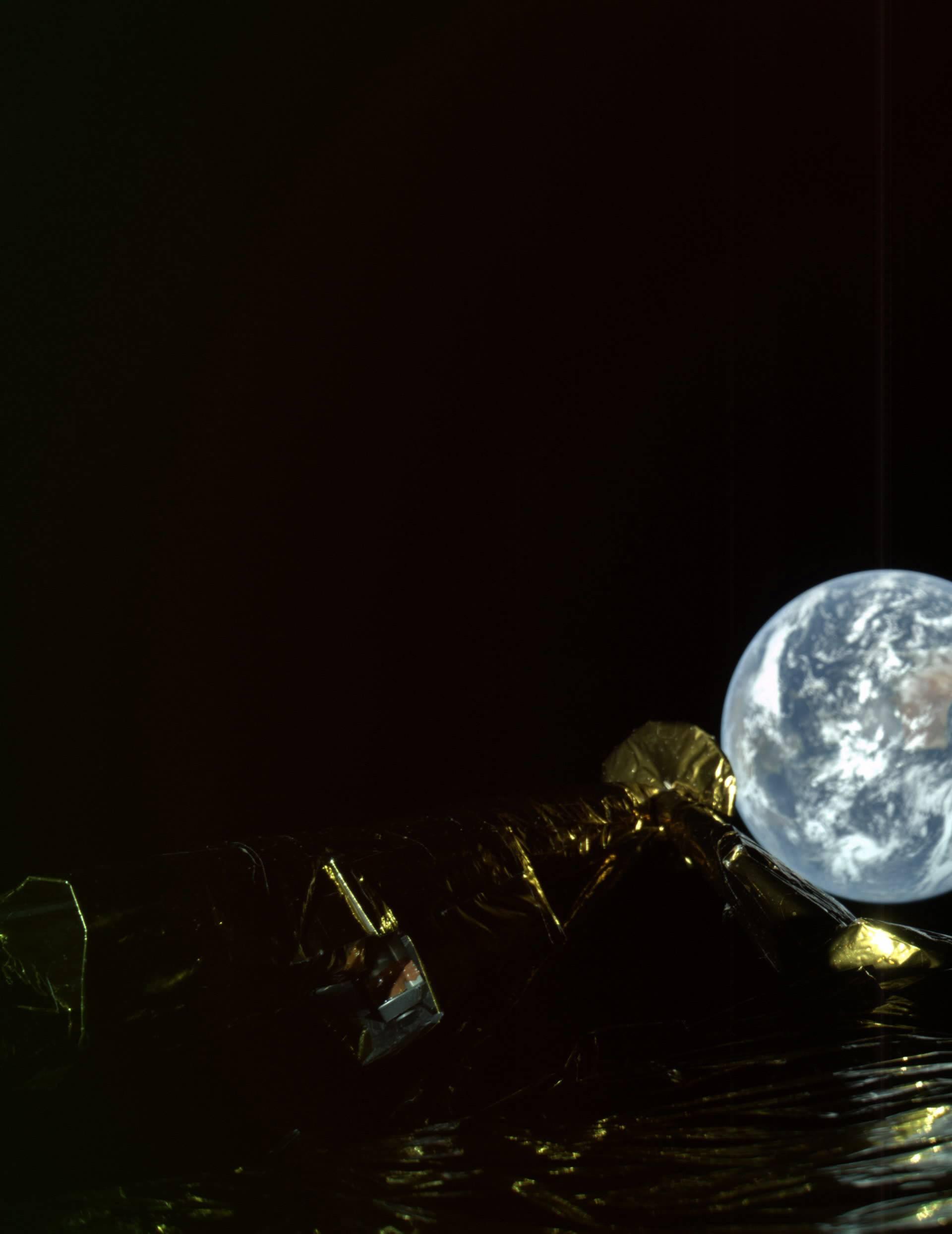 Prvi izraelski selfie iz svemira: 'Mala zemlja, ali veliki snovi...'