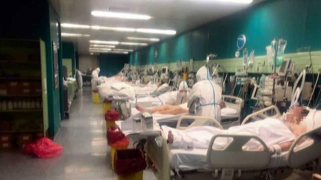 U Dubravi se popunili kreveti u respiracijskom centru, na respiratoru je 50 pacijenata
