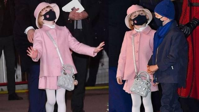 Nosi Dior torbicu, a tek joj je 6: Princeza Gabriella voli srebrnu