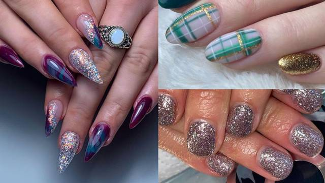 Tako lako: 3 načina za kreativno nanošenje glitter laka za nokte