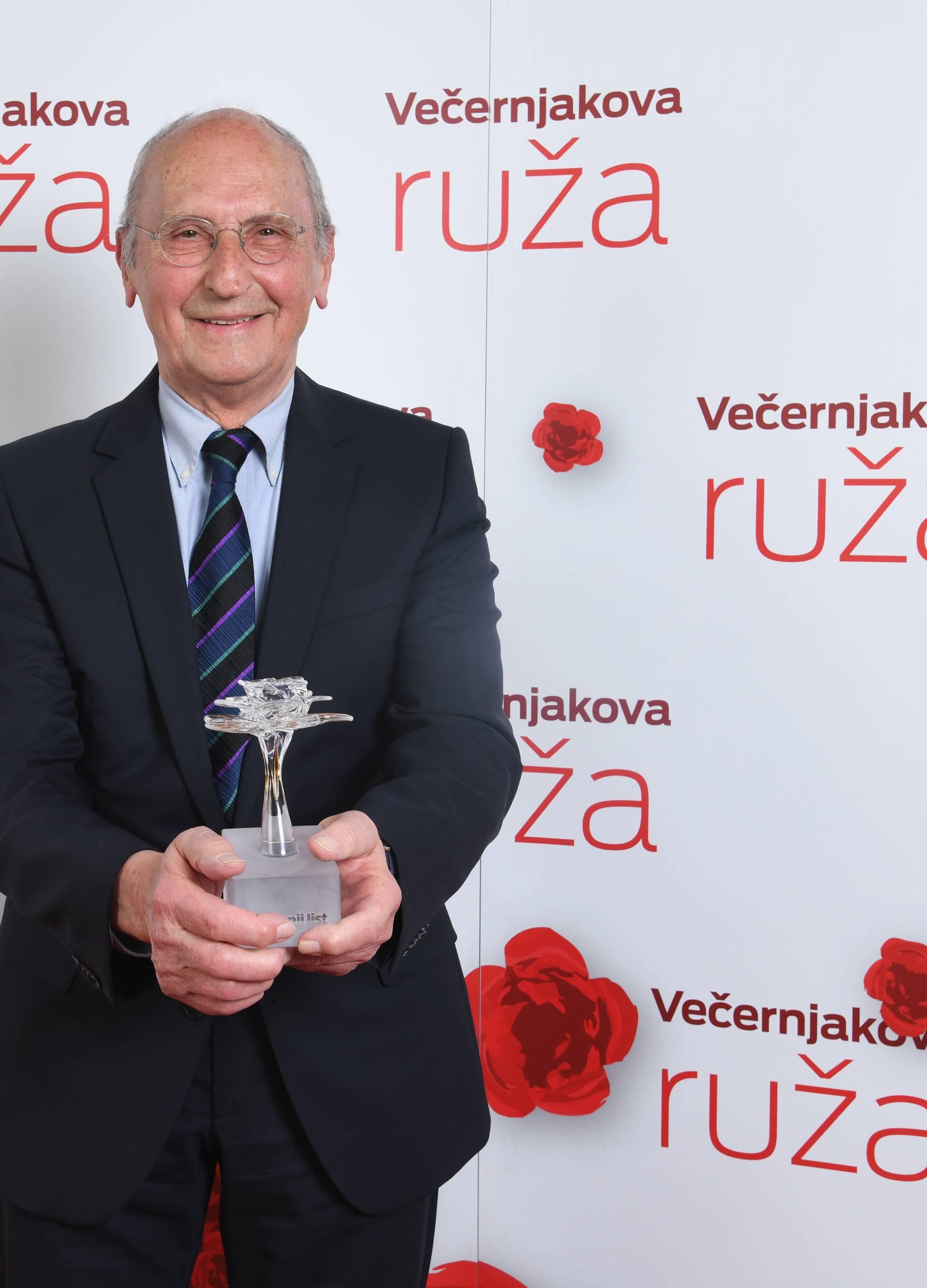 Zagreb: Dobitnici medijske nagrade Večernjakova ruža