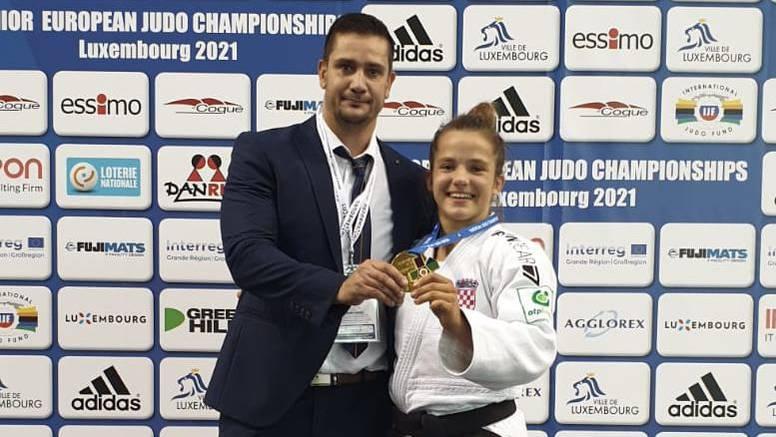 Zlato i srebro Hrvatskoj: Krišto europska prvakinja u judu