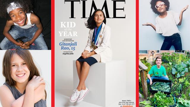 Time prvi put izabrao dijete godine: Titula ide fascinantnoj 15-godišnjoj znanstvenici