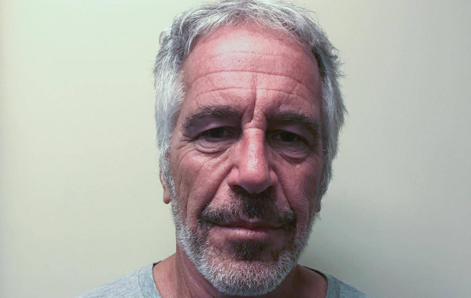 Jeffrey Epstein appears in a photo taken for the NY Division of Criminal Justice Services' sex offender registry