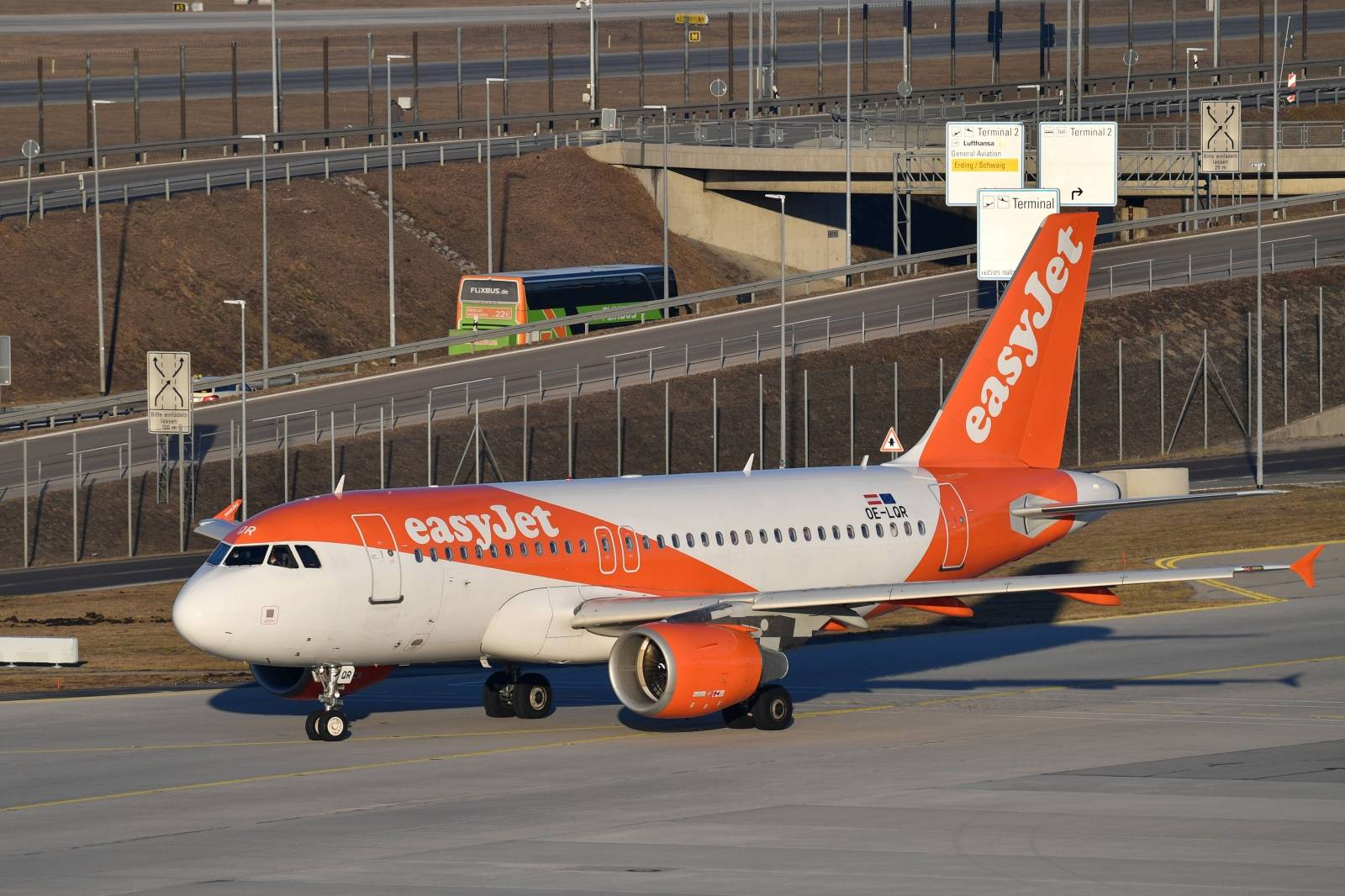 Aircraft at Munich Airport.