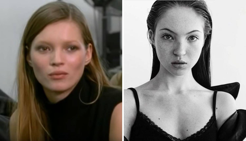 Iste su: Kate i Lila Moss su kao sestre, a razlika je 29 godina...