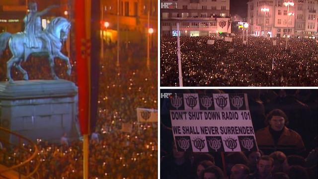 Najveći prosvjed na Trgu: Sto tisuća ljudi izašlo je na ulice...