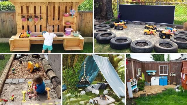 Oduševite mališane: 20 ideja za uređenje dječjeg kutka u vrtu