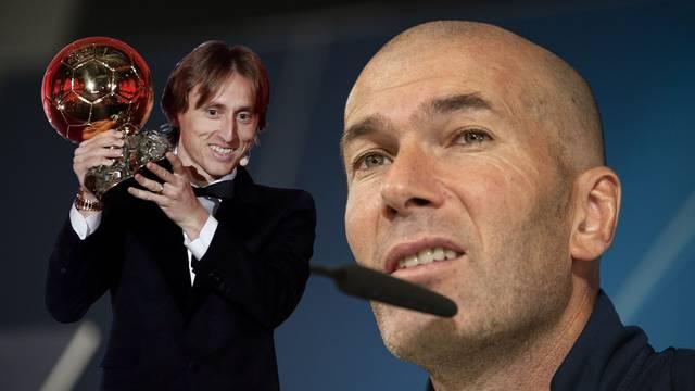 Modrić: Kad smo se upoznali, Zidane mi je prišao i rekao 'Vidim te sa Zlatnom loptom'