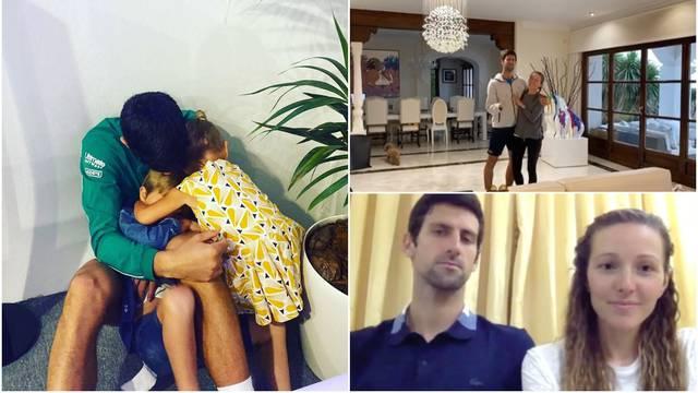 Đoković u izolaciji s djecom i ženom: Pokazali luksuznu kuću
