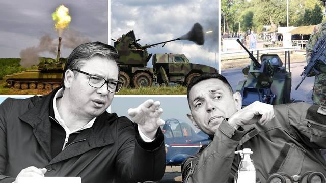 Ovo je popis naoružanja koje proizvodi Srbija i prodaje ga svima. Cilj: Preskočiti Hrvatsku