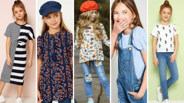 Prvi dan škole: Top 20 odjevnih kombinacija za malene prvašice
