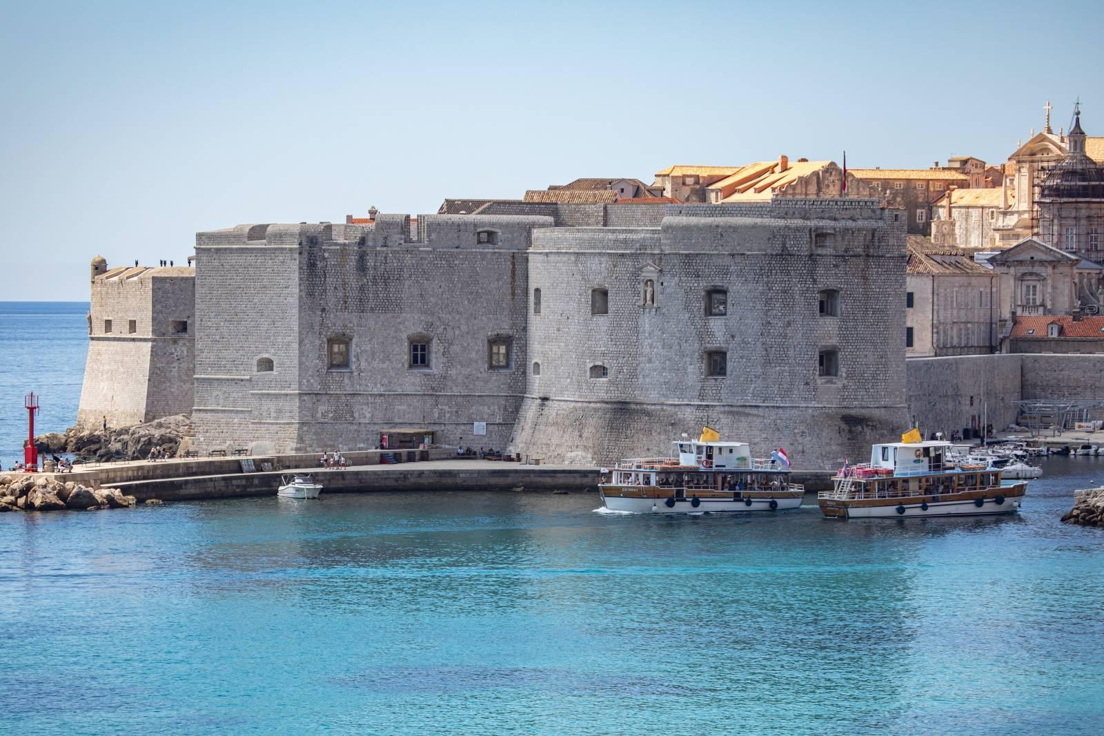 Dubrovnik: Dolazak turističkih brodova u grad