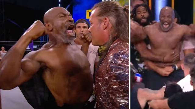 Tyson se vratio u ring, izazvao kaos: Uletjele i UFC zvijezde...