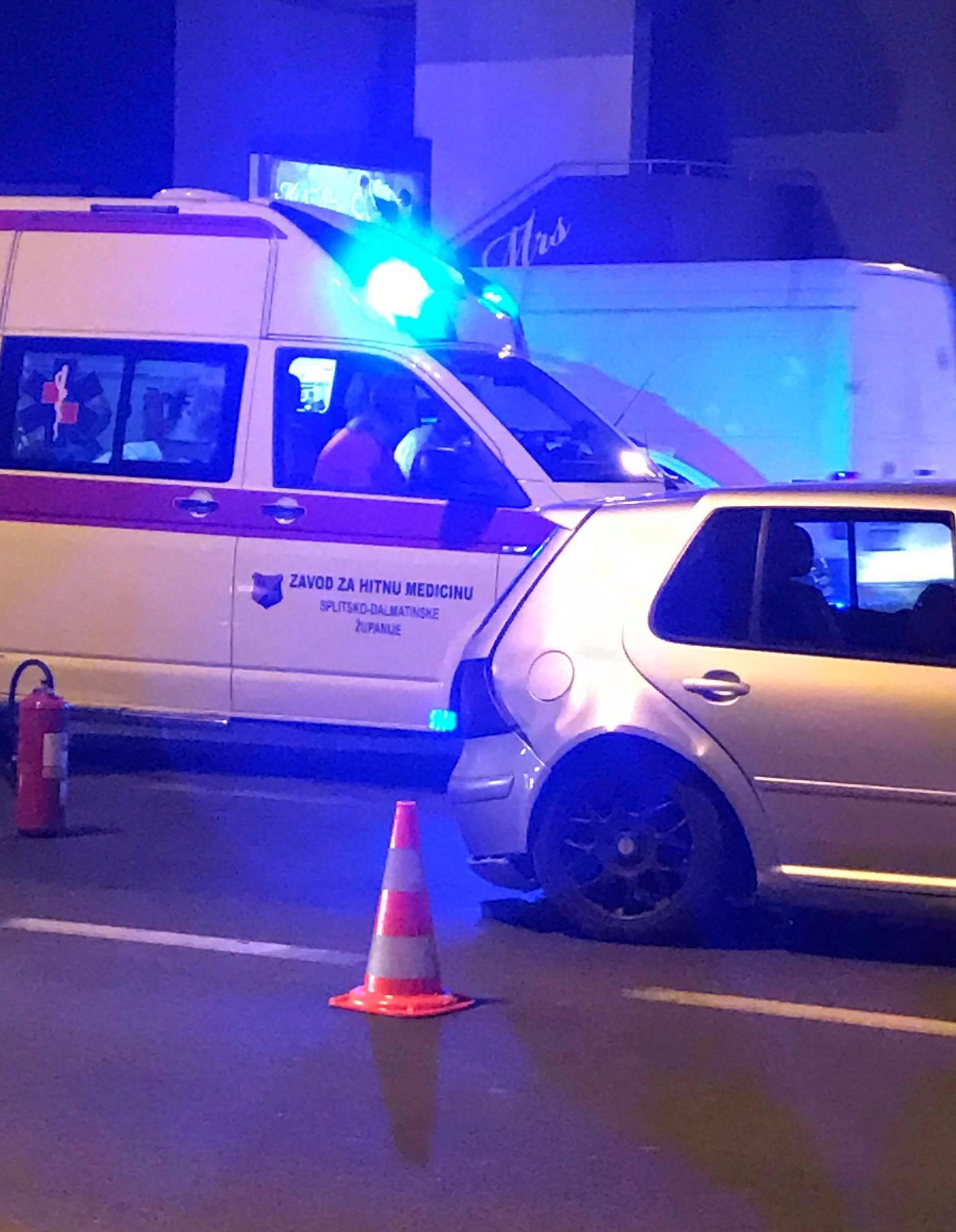Prometna u Kaštel Sućurcu: Dvoje je prevezeno u KBC Split