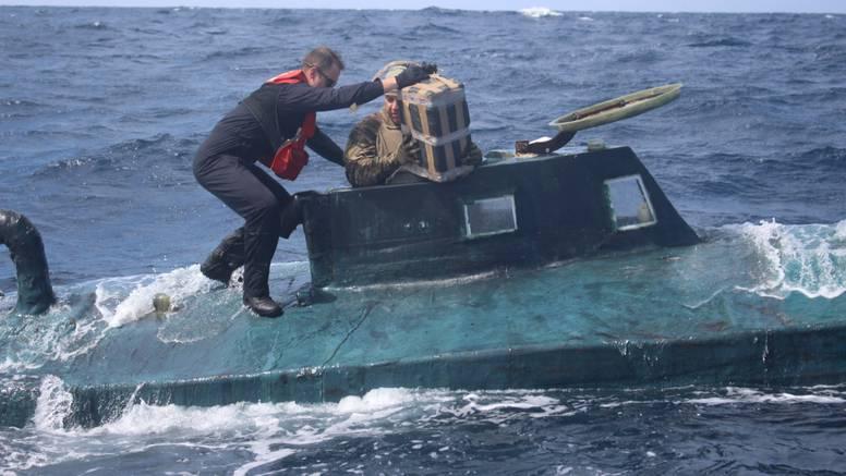 U 'sklepanoj' podmornici našli kokain vrijedan 165 mil. dolara