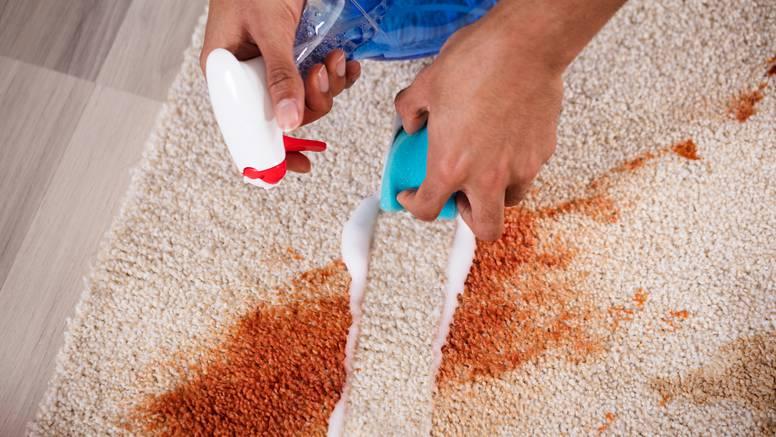 Vodič za čišćenje tepiha: U četiri koraka riješite se baš svih mrlja