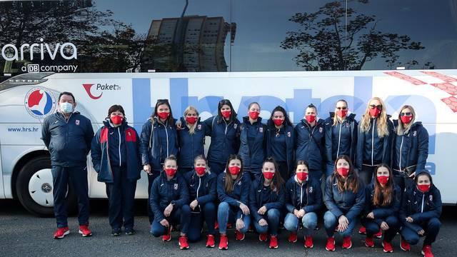 Zagreb: Okupljanje ženske rukometne reprezentacije uoči priprema za EP