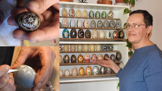 Umjetnica za pisanice: Andreja za bojanje jaja osvojila srebro