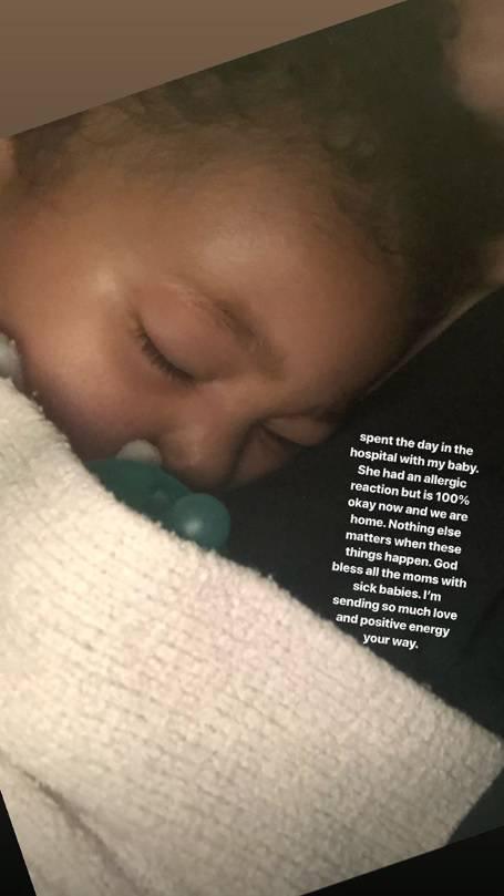 Kylie Jenner je provela dan u bolnici: Malena je imala alergiju