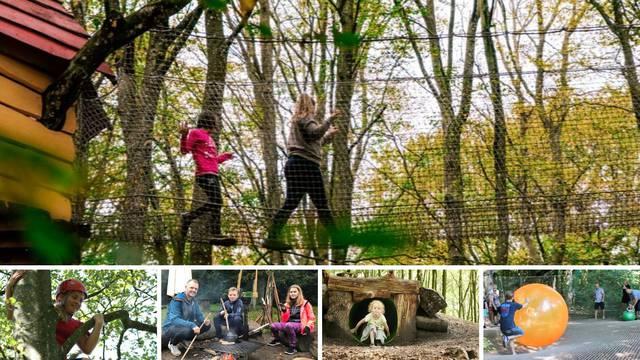 Da nam je posjetiti WOW Park: Tu se penje, skače, spušta zip-lineom, njiše poput Tarzana...
