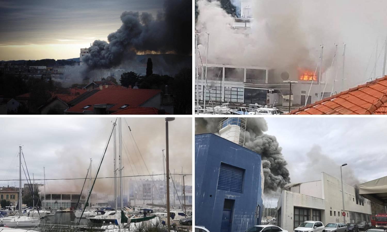 Zadarska policija traži pomoć: Mladići su podmetnuli požar?