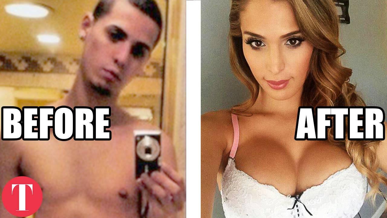 10 seksi žena za koje nikad ne biste rekli da su bili muškarci