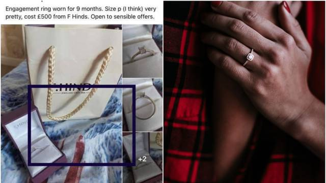 Prodaje zaručnički prsten nošen 9 mjeseci  - a objašnjenje je 'sve'