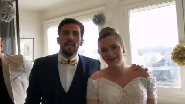 Barbaru iz Petrinje suprug je na vjenčanju ganuo do suza: 'Ljepši dan nisam mogla ni poželjeti'