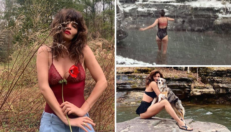 Bivša Viktorijina anđelica sad uživa u ledenoj kupki u divljini
